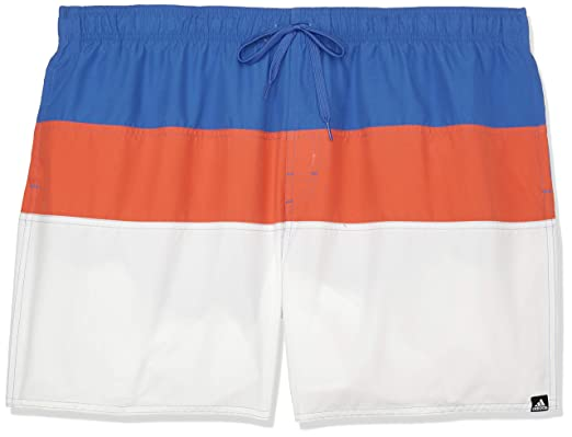 adidas Colorblock Short Length Bañador, Hombre: Amazon.es