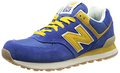 new balance blue yellow 574
