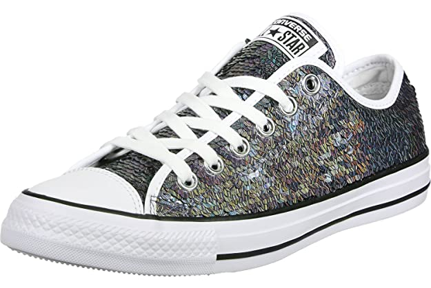 All Star Sequin OX Damen Sneaker Metallisch Converse lzfrBP9j8