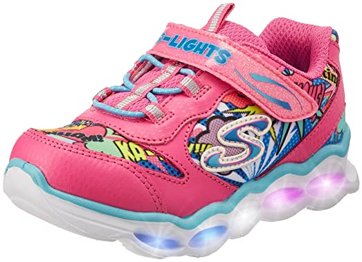 girls light up skechers
