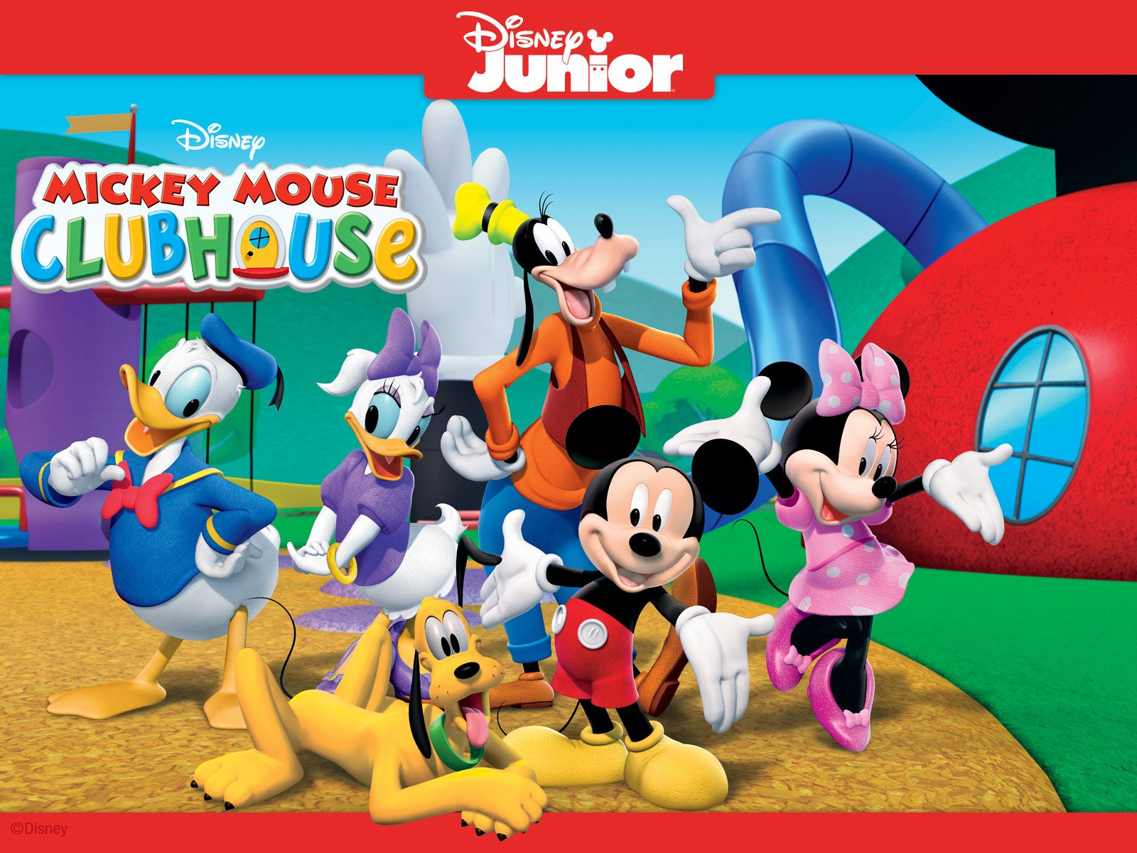Mickey mouse clubhouse house remarkable, very