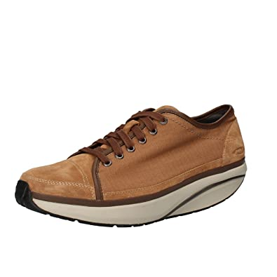 MBT Baskets Homme 42 EU Marron Nabuk Textile lY3IYWQ9