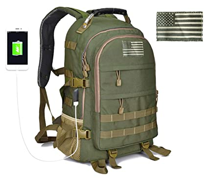 Bag Usb Hunting Outdoor Molle Backpack Hiking Charging Army Military Rucksack For Men Bow Out Assault Bug Tactical Millennials Pack tBrdxhQsC