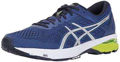ASICS Men's GT 1000 6 Running Shoe, LimogesSilverPeacoat