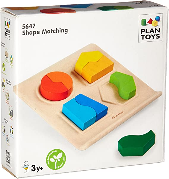 Plan Toys matching puzzles [shapes