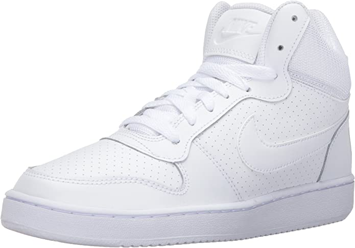 Nike Wmns Court Borough Mid, Scarpe da Basket Bambina  q7WhOR