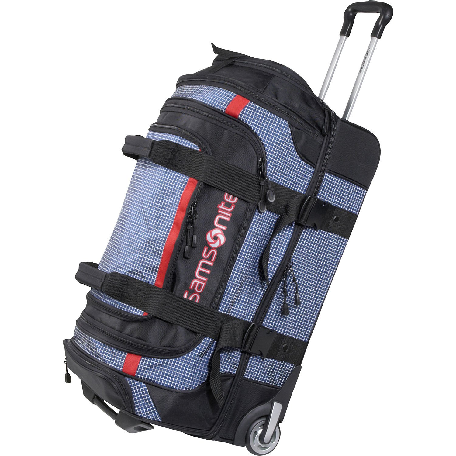 Amazon.com | Samsonite Luggage Ripstop Wheeled Duffel, Blue (30 ...