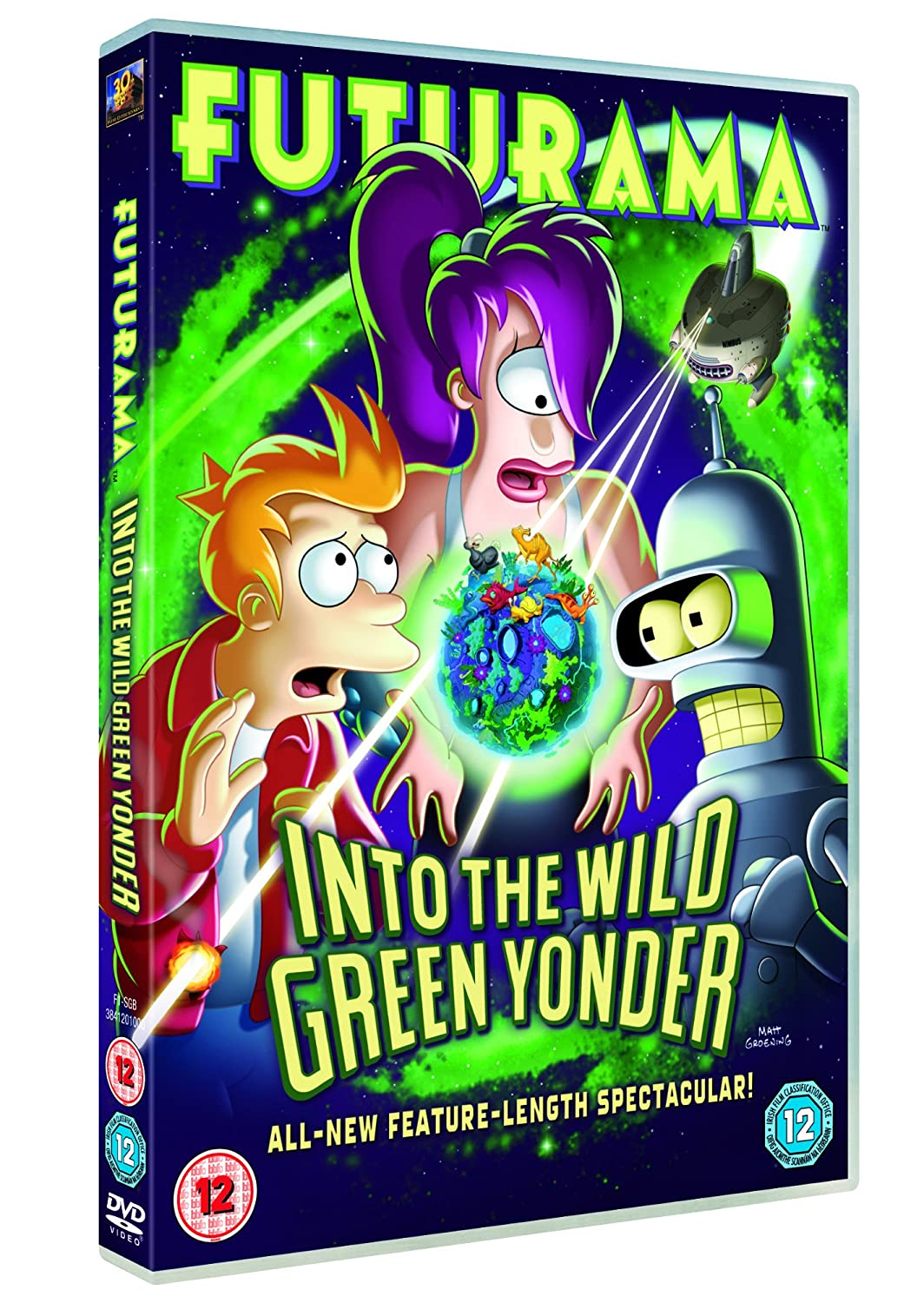 REVIEW: FUTURAMA: INTO THE WILD GREEN YONDER