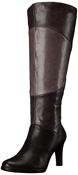 Amazon.com | Naturalizer Women's Analise Wide Calf Riding Boot ...