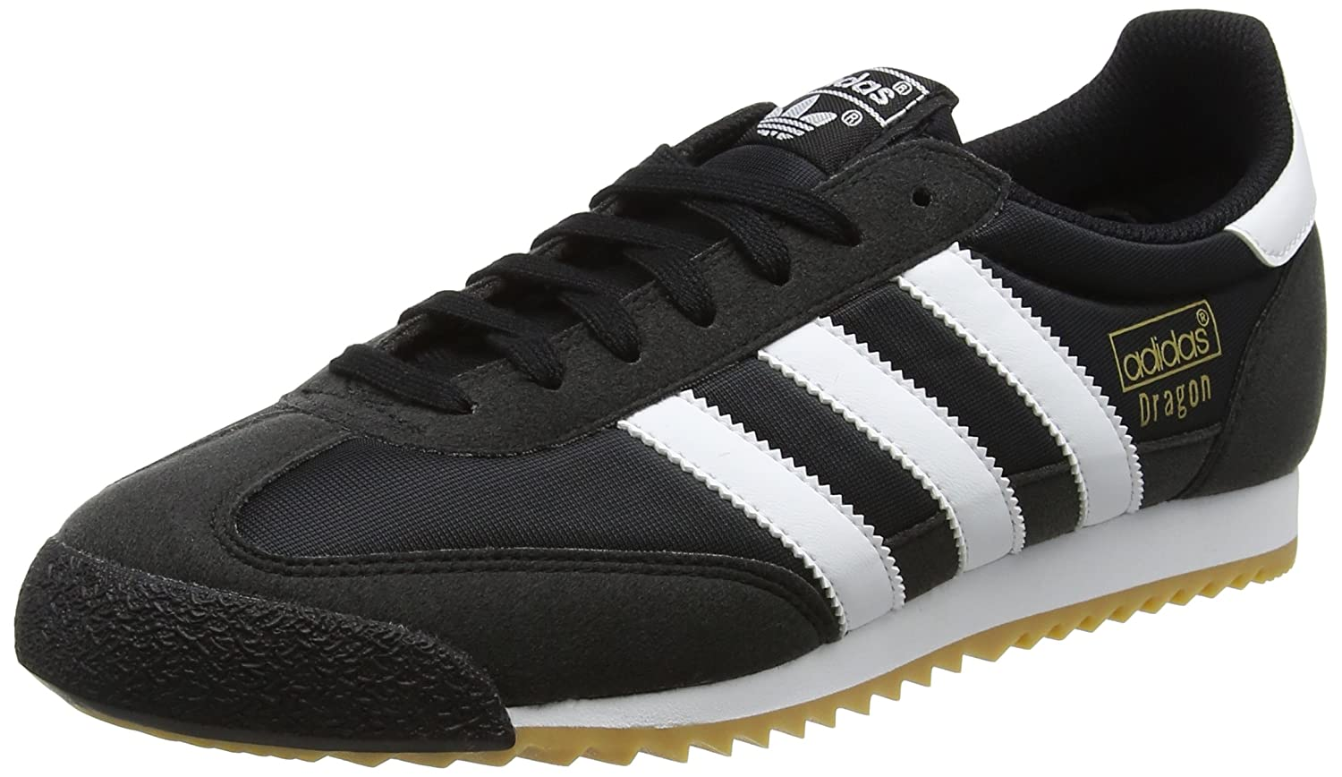 adidas Dragon OG, Baskets Homme, Noir (Core Black/Footwear White/Gum 0), 40 EU