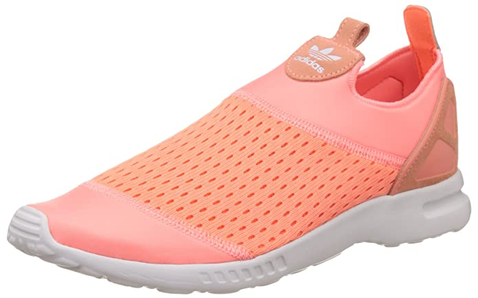 adidas Damen ZX Flux ADV Smooth Slip-on Orange