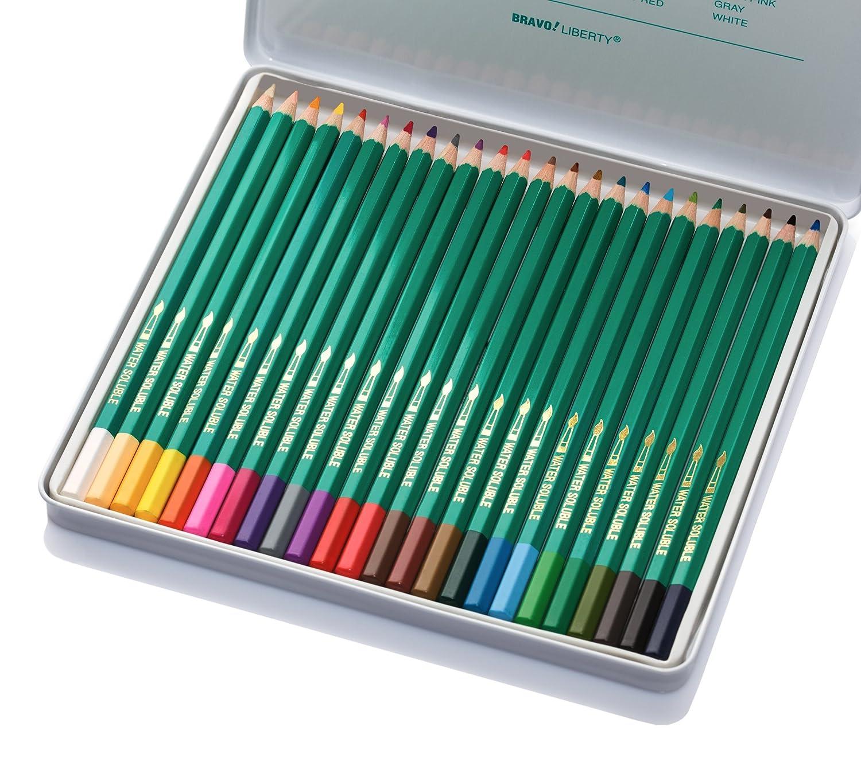 Amazon.com : LibertyBravo CC-858ZM Premium Quality Colored Pencils ...