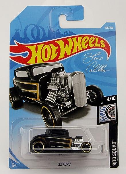Hot Wheels /'32 Ford Rod Squad 105//250 2019 short card