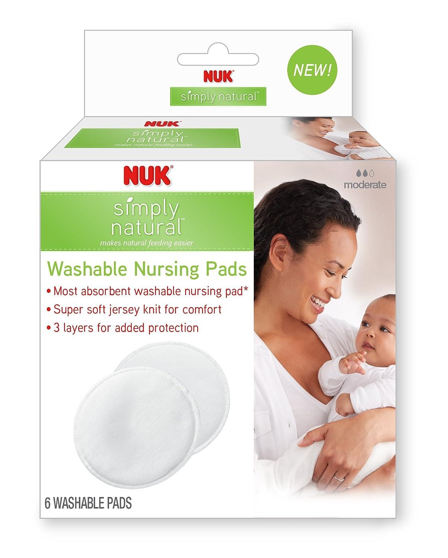 NUK Washable Nursing Pads 6ct