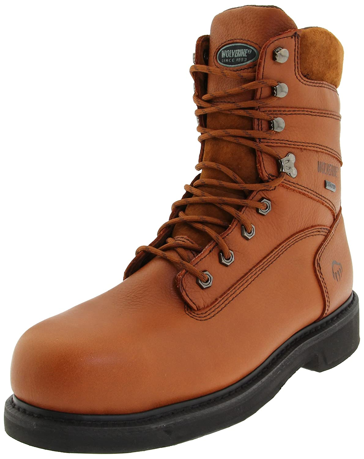 rocky mens boots extralarge mobilite toe comforter steel safety waterproof work boot comfortable shoes