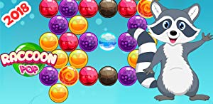 Bubble Shooter - Raccoon Bubble Shoot, Bubble Pop Games for Kindle Fire (Bubble Games for adults, kids and toddlers) by CoBaLa