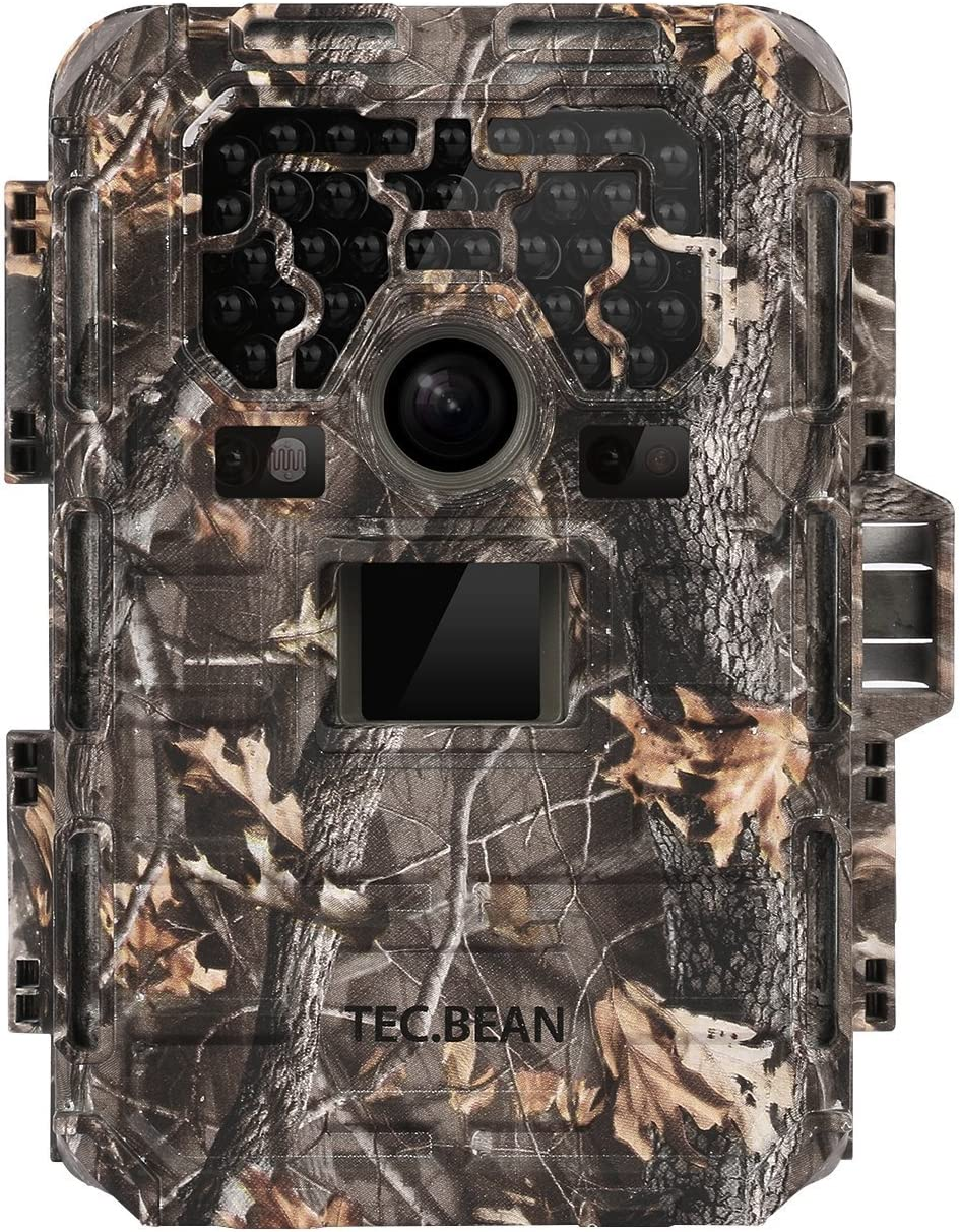 TEC.BEAN DB0826 Trail Game Camera – 12MP 1080P Full HD IP66 Waterproof Hunting Camera with night vision motion activated, SG-009 23M 75ft