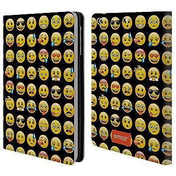 Officiel Emoji Modele Smileys Etui Coque De Livre En Cuir