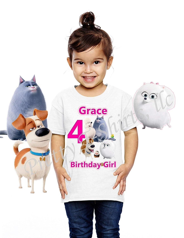 Secret Life of Pets Shirt Personalized Name-Age Pets Family T-Shirt Custom Shirt