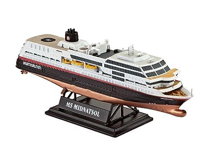 Amazoncom Revell Of Germany MS Midnatsol Hurtigruten Plastic - Cruise ship model kits