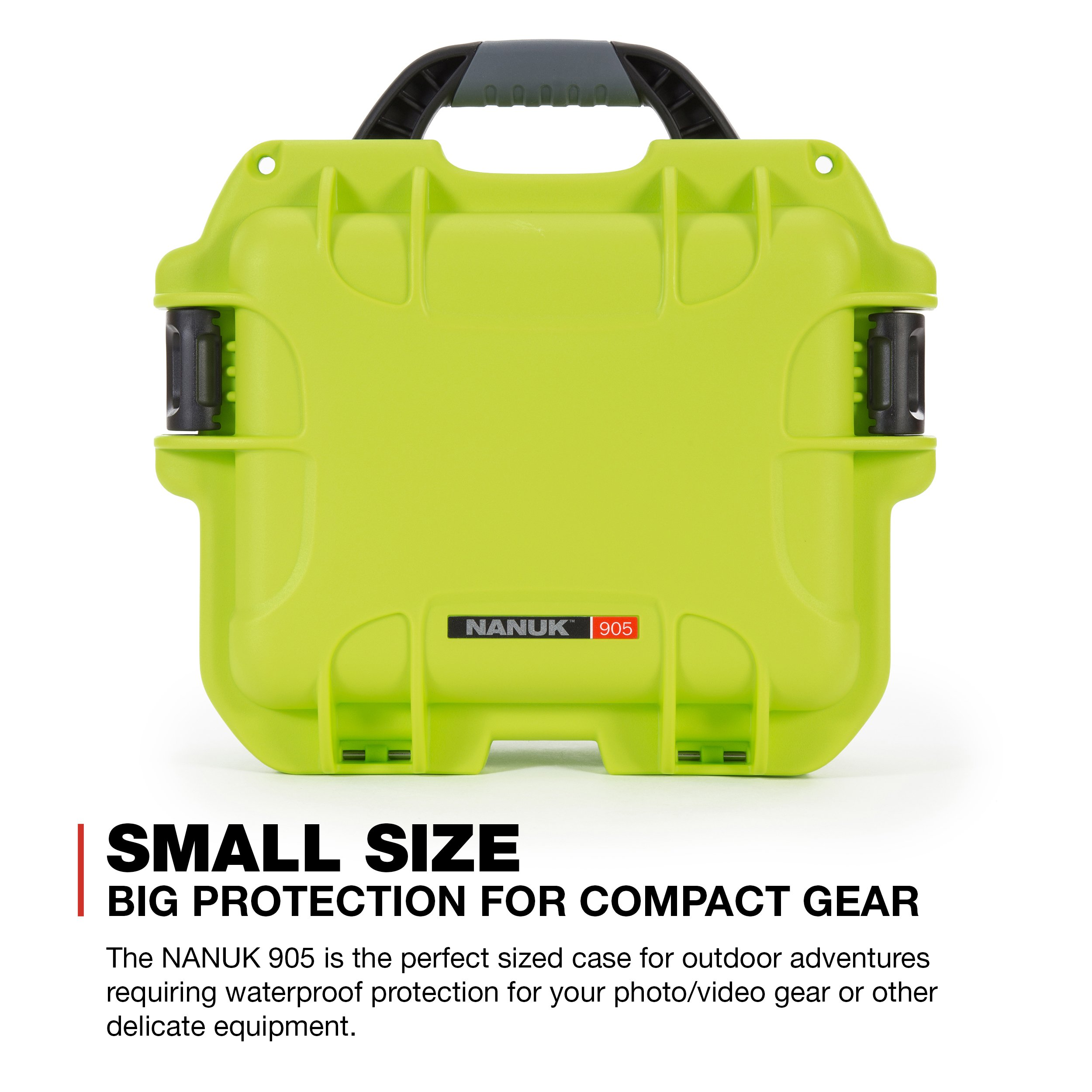 Nanuk 905 Waterproof Hard Case with Padded Dividers - Lime by Nanuk (Image #2)
