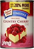 Duncan Hines Comstock Original Pie Filling & Topping, Country Cherry, 21 Ounce (Pack of 8)