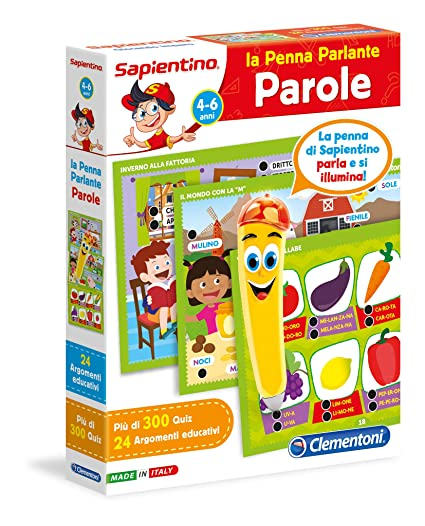 Amazon.com: Sapientino Talking Pen Words Juego Educativo 4 ...