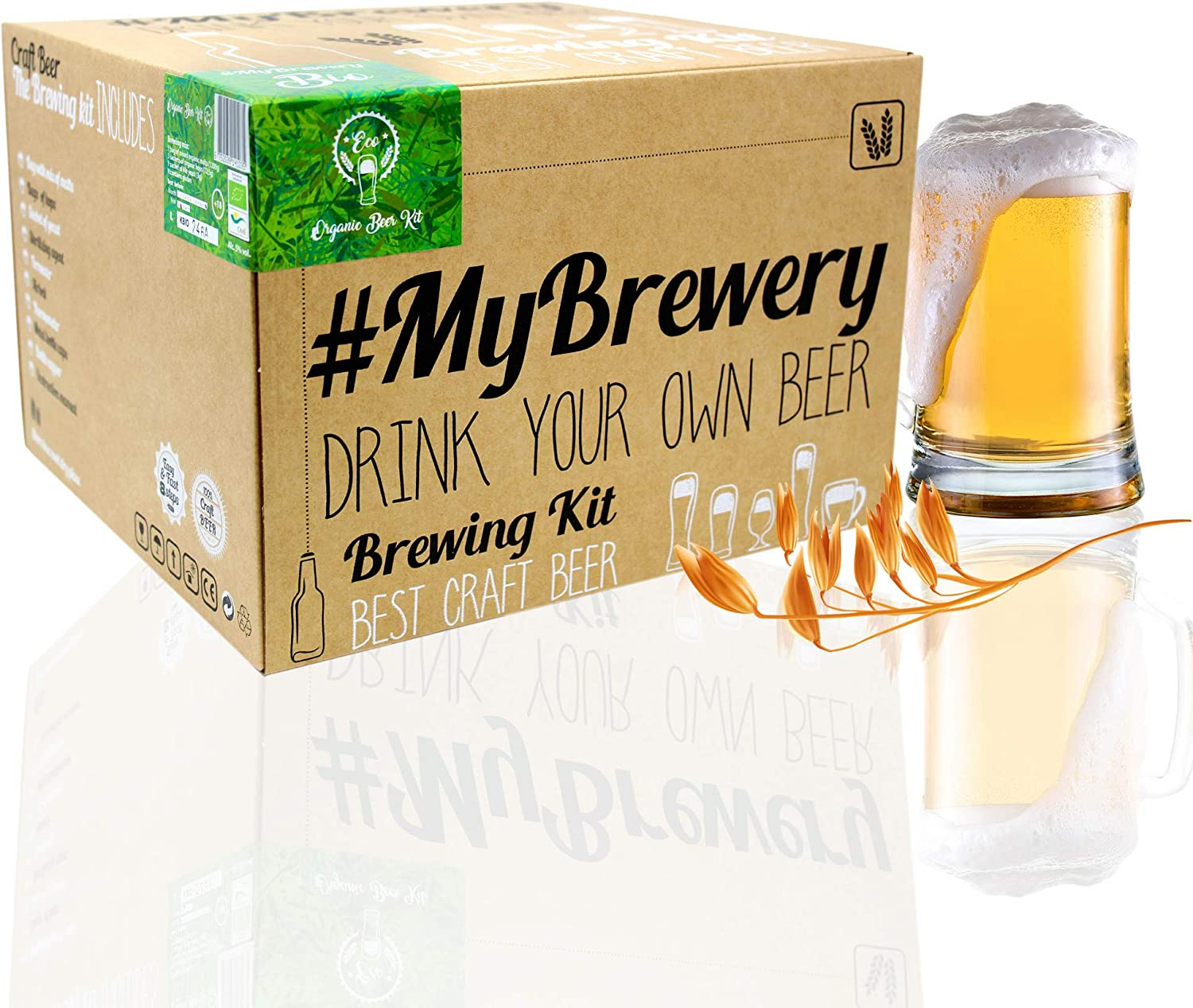 #Cervezanía MyBrewery Home Brewing Kit Bio Beer