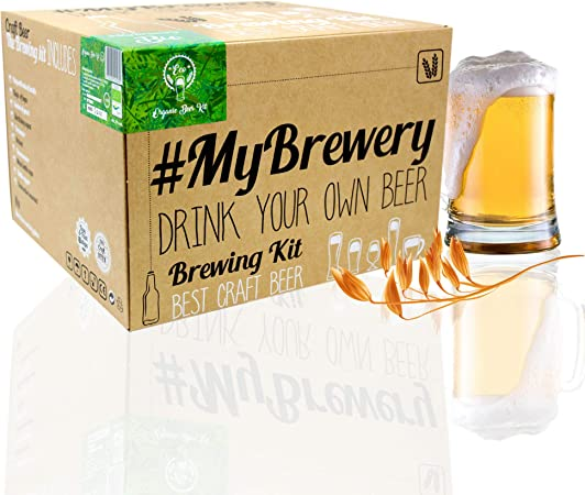 Cervezanía MyBrewery Home Brewing Kit Bio Beer: Amazon.es: Hogar
