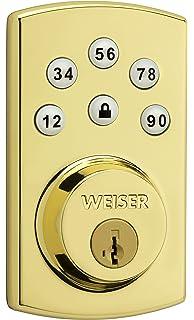 Weiser SmartCode 5 Electronic Deadbolt featuring SmartKey in ...