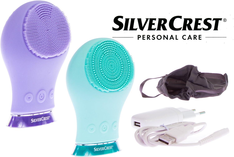 Silvercrest® afeitadora. cepillo de limpieza facial sgrs 3.7 A1, color morado: Amazon.es: Salud y cuidado personal