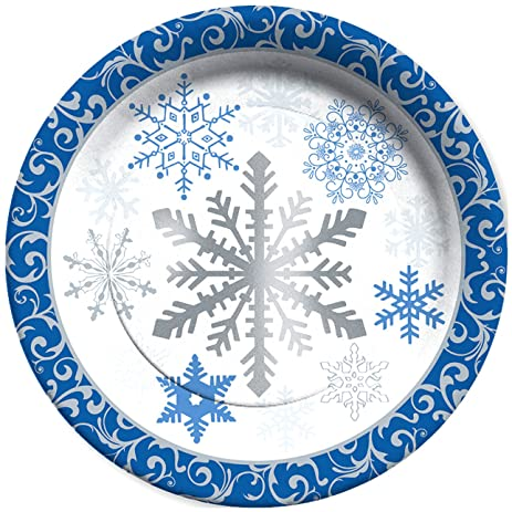 C.R. Gibson 8 Count Decorative Paper Dinner Plates Easy Clean Up Measures 10.5\u0026quot;  sc 1 st  Amazon.com : easy dinner plates - pezcame.com