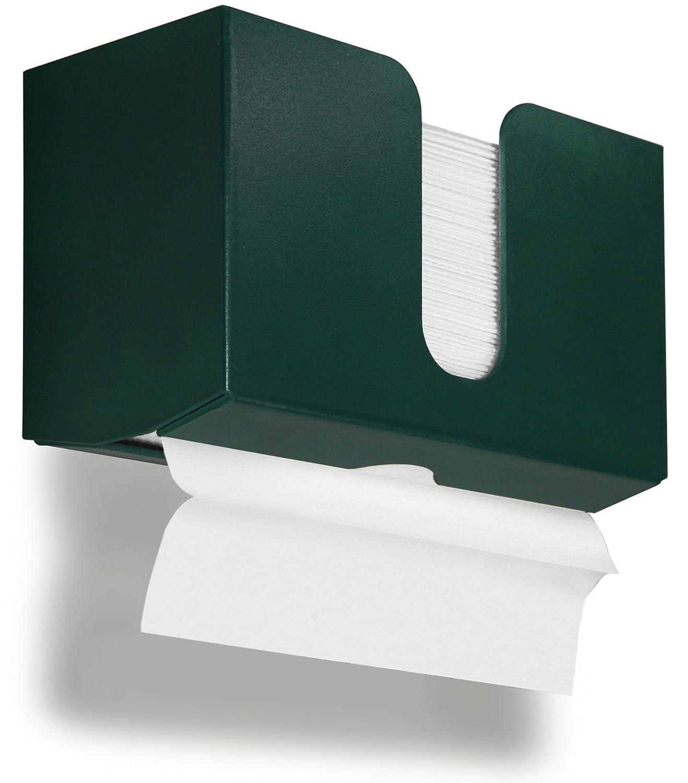 TrippNT 51929 PETG Dual-Dispensing Paper Towel Holder, 10 7/8' Width x 6 1/2' Height x 4 1/4' Depth, Almond Beige 10 7/8 Width x 6 1/2 Height x 4 1/4 Depth