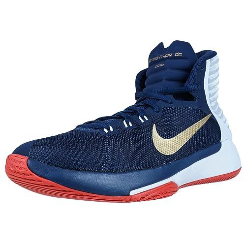 Nike 844787-400, Zapatillas de Baloncesto para Hombre, Azul ...