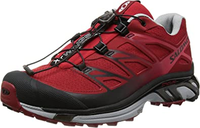 SALOMON XT Wings 3 Zapatilla de Trail Running Caballero, Rojo/Gris ...