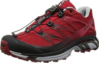 SALOMON XT Wings 3 Zapatilla de Trail Running Caballero, Rojo/Gris ...