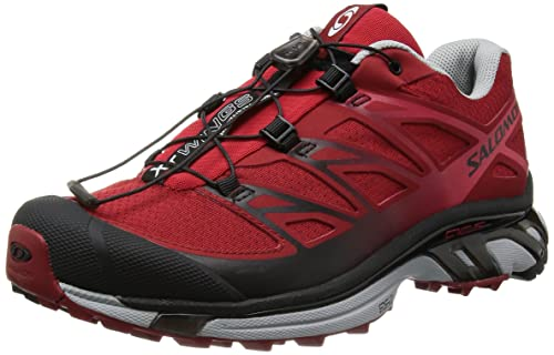 7ecebefcc0 SALOMON XT Wings 3 Zapatilla de Trail Running Caballero, Rojo/Gris, 40 2/3:  Amazon.es: Zapatos y complementos