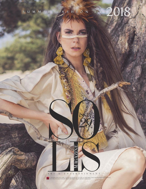 Solis Magazine Issue 29 - Summer Fashion Edition 2018 PDF