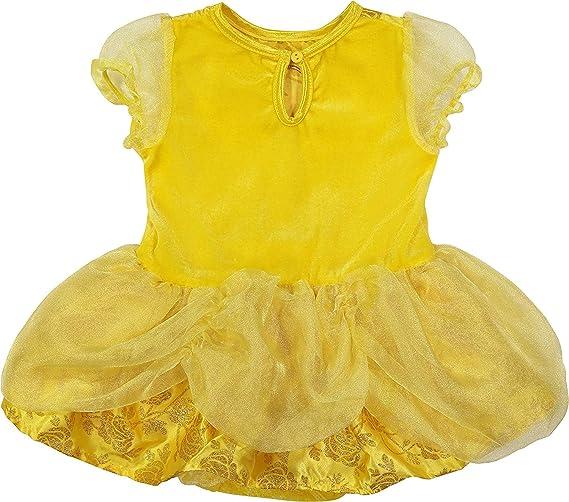 75a752018e9d Amazon.com: Disney Princess Belle Baby Girls' Costume Tutu Dress, Headband  and Tights: Clothing
