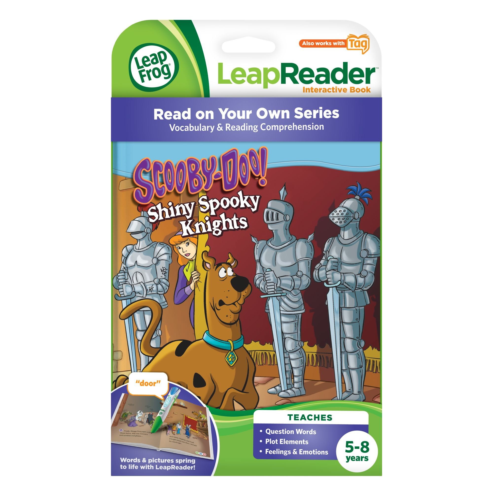 LeapFrog LeapReader Book: Scooby-Doo! Shiny Spooky Knights (works with Tag) by LeapFrog (Image #3)