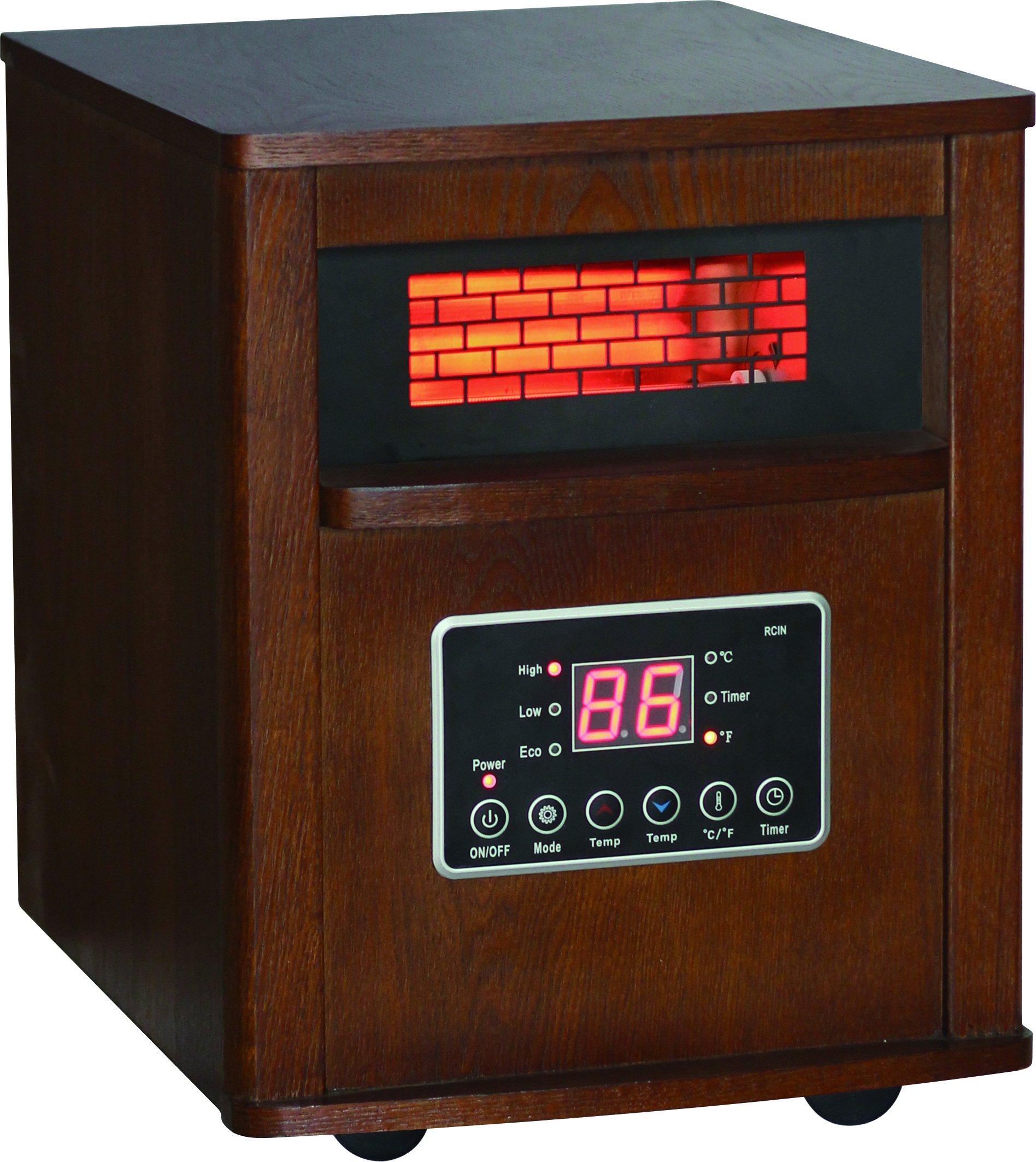 Dura Heat DH2000C Infrared Quartz Heater, 5120 BTU