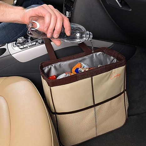 Amazon.com: Creathing Lab bolsa de basura para coche, grande ...