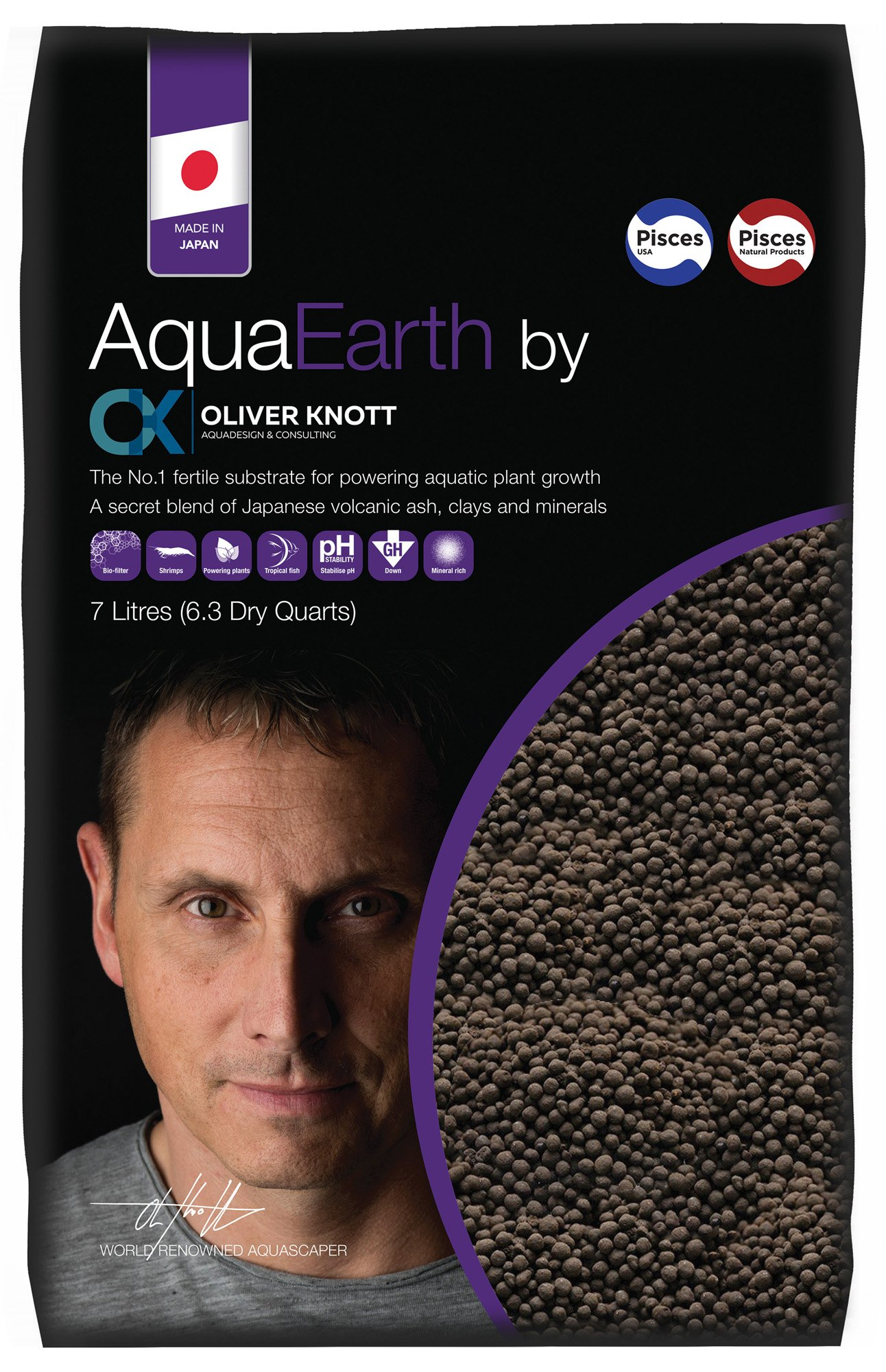 Oliver Knott AQUAEARTH Power Plant Growth, 7 L by Oliver Knott