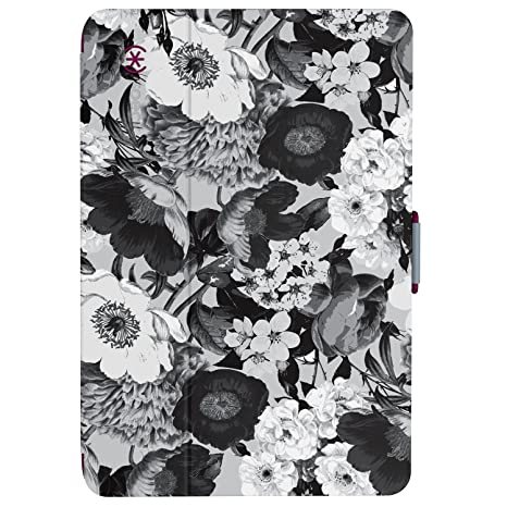 new arrival 559e4 b3064 Speck Products StyleFolio Case and Stand for iPad Mini 4, Vintage  Bouquet/Nickel Grey/Boysenberry Purple
