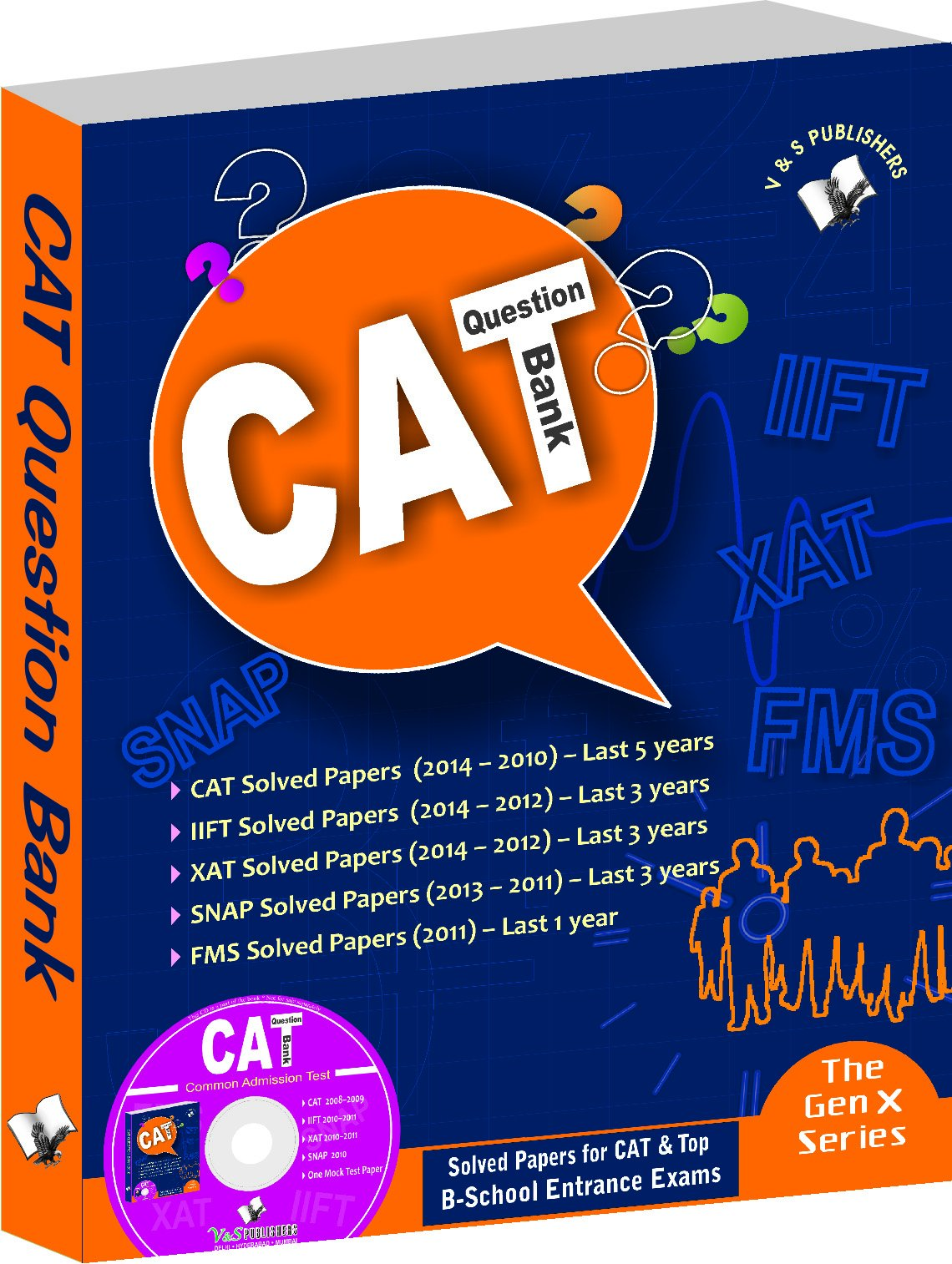 CAT Question Bank 2015 (with CD) pdf