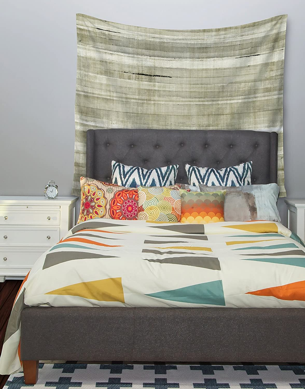 Kess InHouse CarolLynn TICE Simplicity Light Brown Wall Tapestry 51 X 60