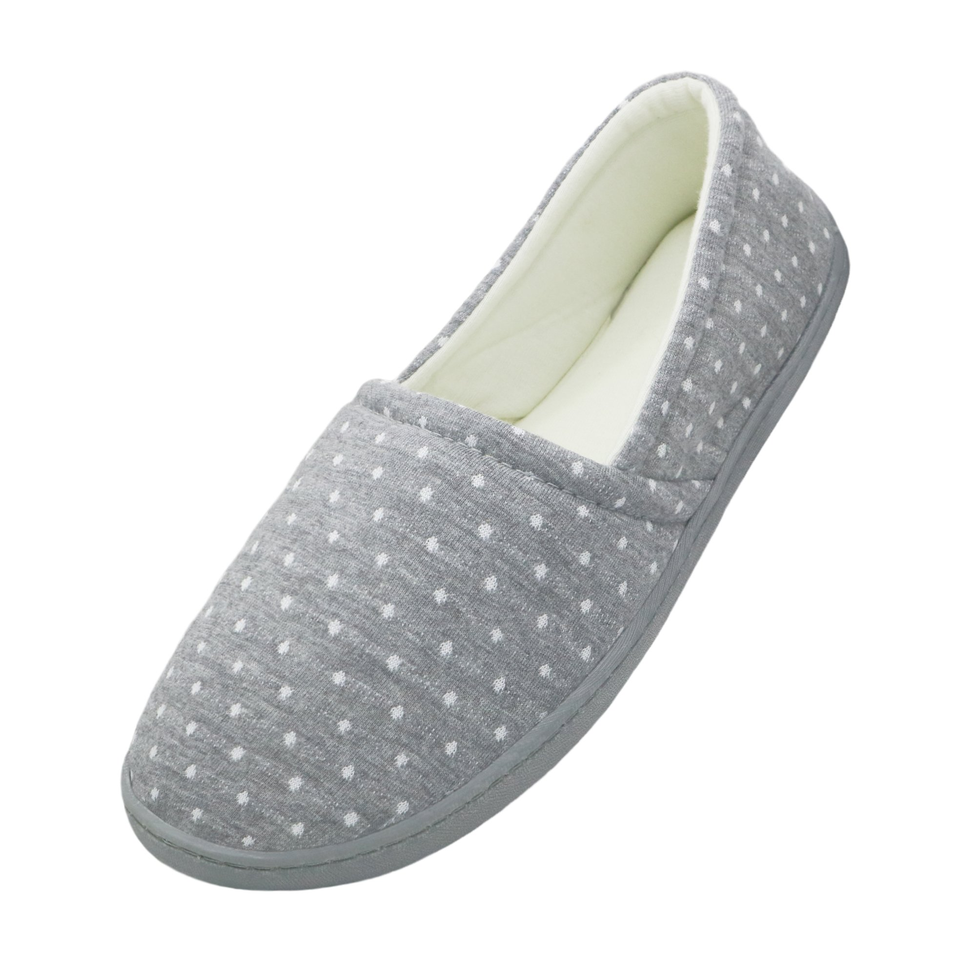 bestfur Pure Cotton Breathable Lining Comfortable Home Slippers Indoor Shoes