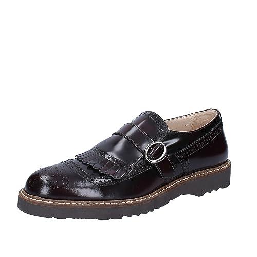 J. BREITLIN Mocasines de Piel Para Hombre Negro Negro: Amazon.es: Zapatos y complementos