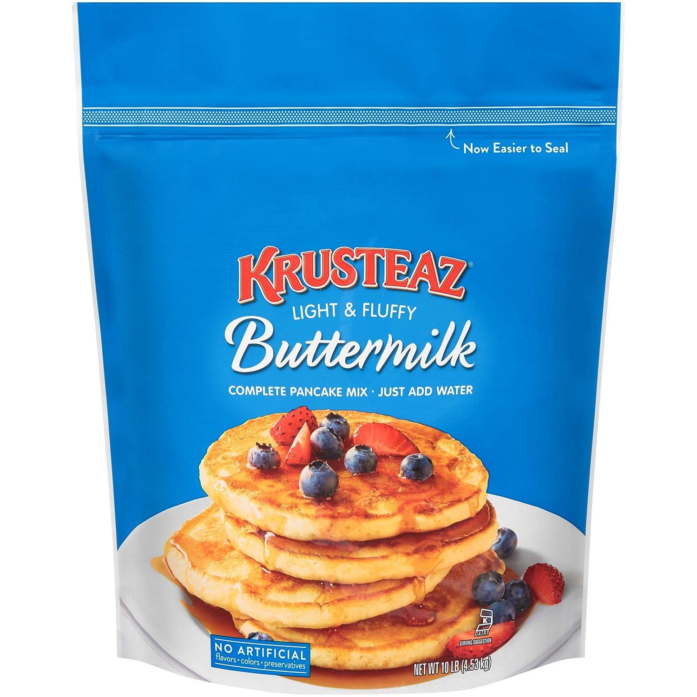 B0028LGNSM Krusteaz Buttermilk Pancake Mix, 10 Pound 812B2Bb054d0L