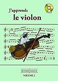Méthode Lesseur : J'apprends le violon vol 2 (CD Inclus)